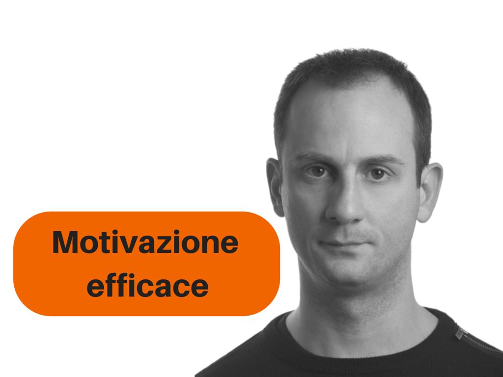 Motivazione – gli errori e strategie per aumentarla