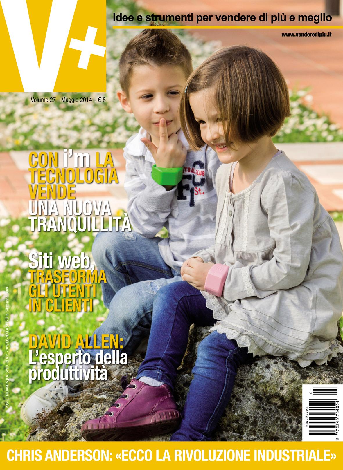 V+ 27 copertina maggio