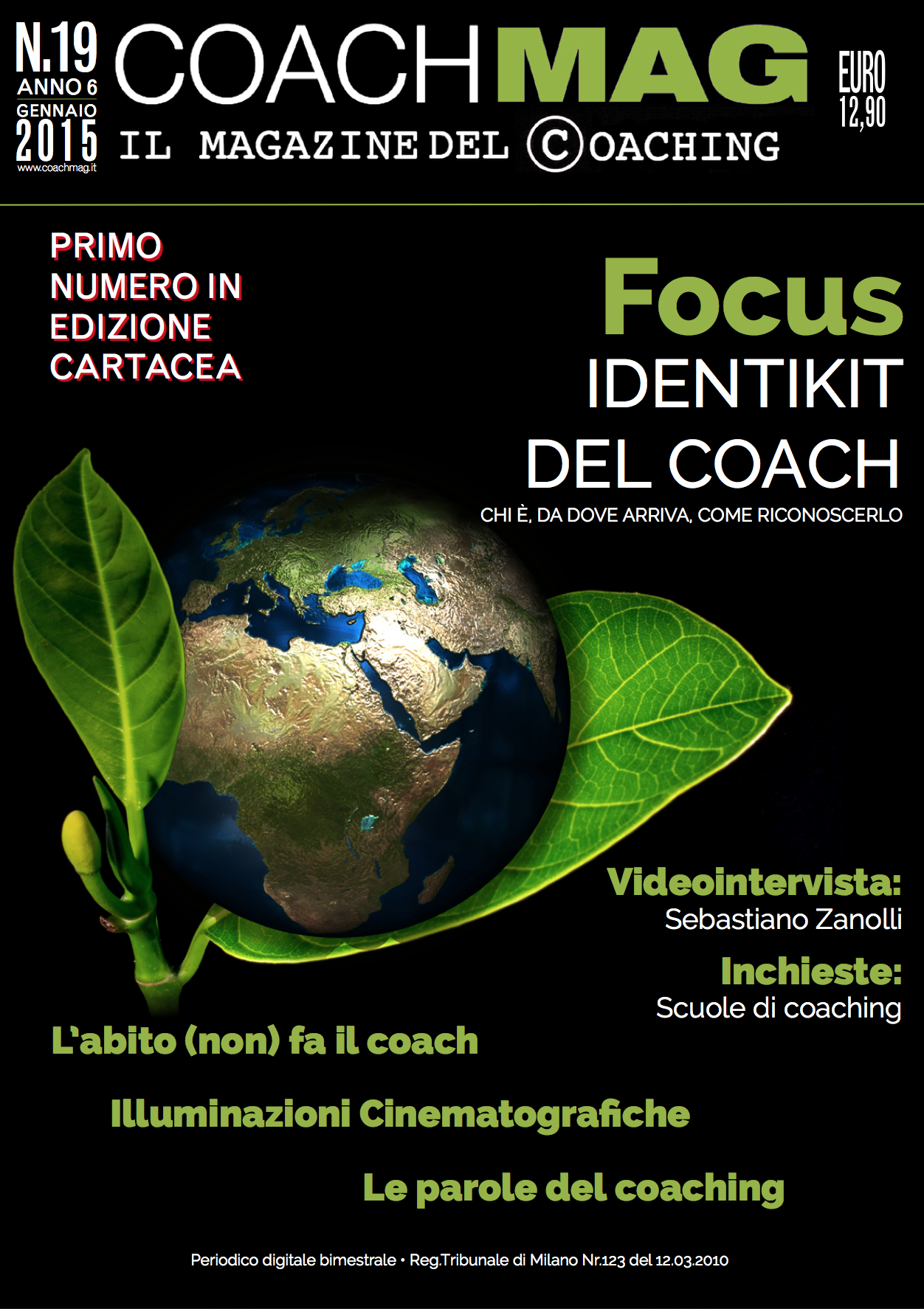 copertina coachmag gen 15