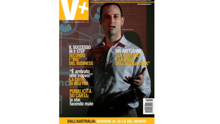 Intervista di copertina – V+